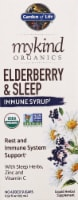 Garden of Life Mykind Organics Elderberry & Sleep Immune Syrup