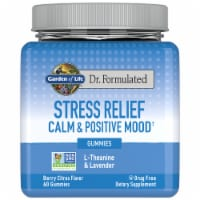 Dr. Formulated Berry Citrus Stress Relief Calm & Positive Mood Gummies - 60 ct