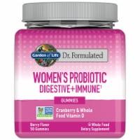 Garden of Life Dr. Formulated Women's Probiotic Cranberry Gummies - 50 ct