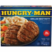 Hungry-Man Grilled Beef Patty Frozen Meal - 15 oz