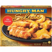 Hungry-Man Selects Golden Battered chicken with Cheese Fries