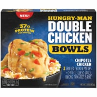 Hungry-Man Double Chipotle Chicken and Rice Frozen Protein Bowl - 15 oz