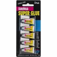 Super Glue 5/Pkg-.017oz - 1