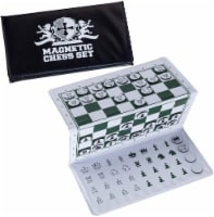 WE Games Magnetic Travel Chess Set Trifold - 1 unit