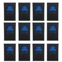 WE Games Chess Scorebook & Notation Pad - Black Hardcover - Bulk Pack Set of 12 - 1 unit