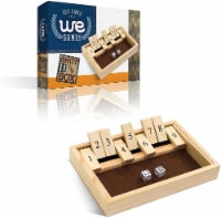 WE Games Wood Shut the Box Game - 9 Numbers, 10.5 inches