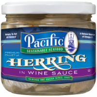 Pacific Sustainable Seafood Herring in Wine Sauce