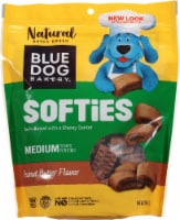 Blue Dog Bakery Softies Peanut Butter Flavor Medium Dog Treats
