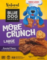 Blue Dog Bakery More Crunch Assorted Flavors Large Dog Treats
