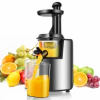 Costway Slow Masticating Juicer Cold Press Stainless Steel w/ Brush - 1 unit