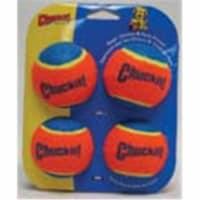 Chuckit! Multicolored Ball Launcher Tennis Balls Rubber Tennis Balls Medium 4 - Case Of: 1;