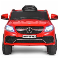 """Costway Mercedes Benz 12V Electric Kids Ride On Car Licensed MP3 RC Remote Control - 42.5"""" x26.5"""" x21.5"""""""