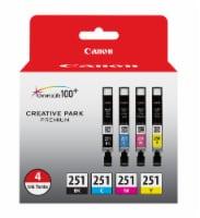 Canon Ink Tanks 4 Pack- Black/Cyan/Magenta/Yellow