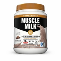 Muscle Milk Coffee House Mocha Latte Flavored Caffeinated Protein Powder - 30.9 oz