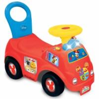 Kiddieland Light n' Sound Mickey Activity Fire Engine Kid Toy Car, Red   050815 - 1 Unit