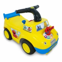 Kiddieland 055095 Elmo's Fun Learning School Bus Toddler Kids Ride On Toy Car