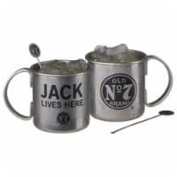 Jack Daniels 802264 Jack Daniels Tennessee Mule Mug Set