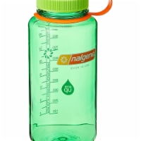 Nalgene 341967 32 oz Narrow Mouth Melon Ball Bottle - 1