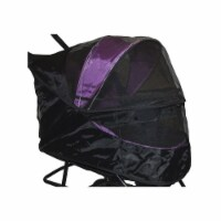 Special Edition No-Zip Pet Stroller Weather Cover, Black