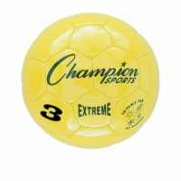 3 Size Extreme Series Soccer Ball - Yellow