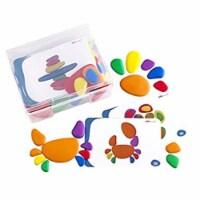 Rainbow Pebbles - Plastic