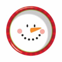 Group  6 in. Decor Snowman Face Plastic Bowl, Pack of 12