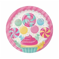 Group  Candy Bouquet Dinner Plate, Pack of 12 - 8 Per Pack