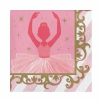 Group  2 Ply Twinkle Toes Luncheon Napkin, Pack of 12 - 16 Per Pack - 12