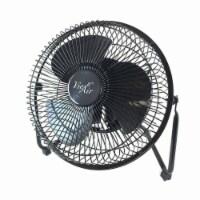 8 in. High Velocity Metal Desk & Floor Fan - 1