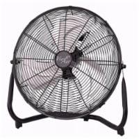 14in. Industrial High Velocity Heavy Duty Metal Floor Fan with 3 Speed Settings - 1