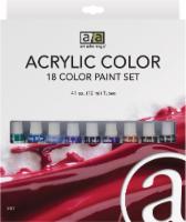 Art Advantage Acrylic Color Paint Set - Multi-Color