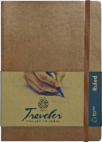 Pentalic Traveler Pocket Journal - 8 x 6 in