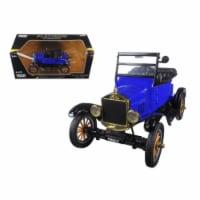 Motormax 79327bl 1925 Ford Model T Runabout Blue 1-24 Diecast Model Car - 1
