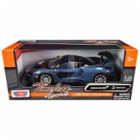 Motormax 79355gry McLaren Senna Gray Metallic & Black Timeless Legends 1 by 24 Diecast Model - 1