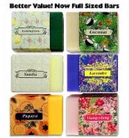 Purelis Naturals Aromatherapy Soap Bars, Artisan Crafted 6 Soap Gift Set - 1