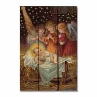 Day Dream HON1624 16 x 24 in. Holy Night Inside & Outside Cedar Wall Art - 1