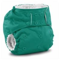 Rumparooz One Size Cloth Pocket Diaper Snap - Peacock - One Size