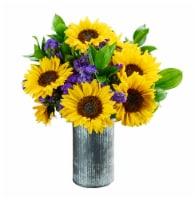 Dos Gringos Flower Company Cottage Garden Sun Flower Arrangement - 1 ct