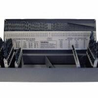 Jobber Drill Bit Set,  Number of Drill Bits 114,  Drill Bit Point Angle 118° - 1