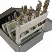 Chicago-latrobe Screw Machine Drill Bit Set, 15pc, Cobalt  69856
