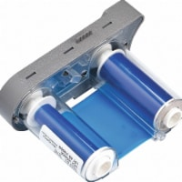 Brady Thermal Transfer Printer Ribbon,Blue  R4410-BL - 1