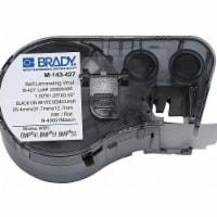 Brady Wire Marker Label,Black/White/Clear  M-143-427 - 1