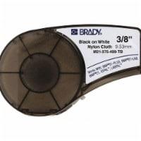 Brady Label Cartridge,Black/White  M21-375-499-TB - 1