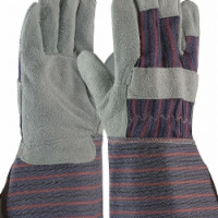 Pip Leather Gloves,2XL,Gunn Cut,PR,PK12