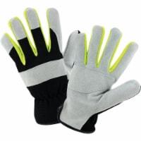 West Chester® Extreme Work™ Black & Gray Cowhide Work Glove - XL