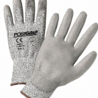 Posigrip Touchscreen Utility Glove,S,Gray,PK12 HAWA 713HUTS/S - S