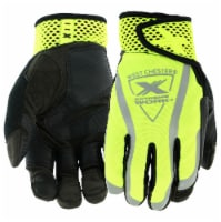 West Chester® Extreme Work VizX Black/Yellow Safety Performance Gloves - L