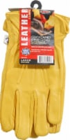 West Chester Grain Cowhide Leather Driver Gloves - L