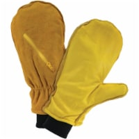 West Chester Men's Large Insulated Leather Mitten Winter Glove 97861/L