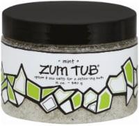 Zum Tub Mint Epsom & Sea Salt